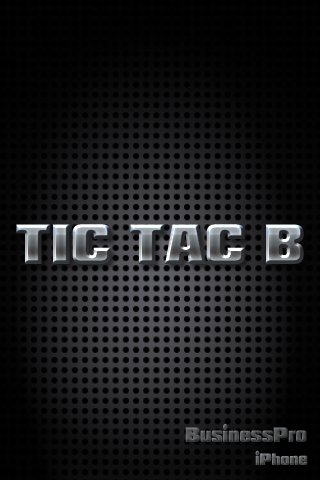 Screenshot TIC TAC B